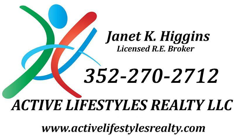 Call Janet Higgins 352-270-2712